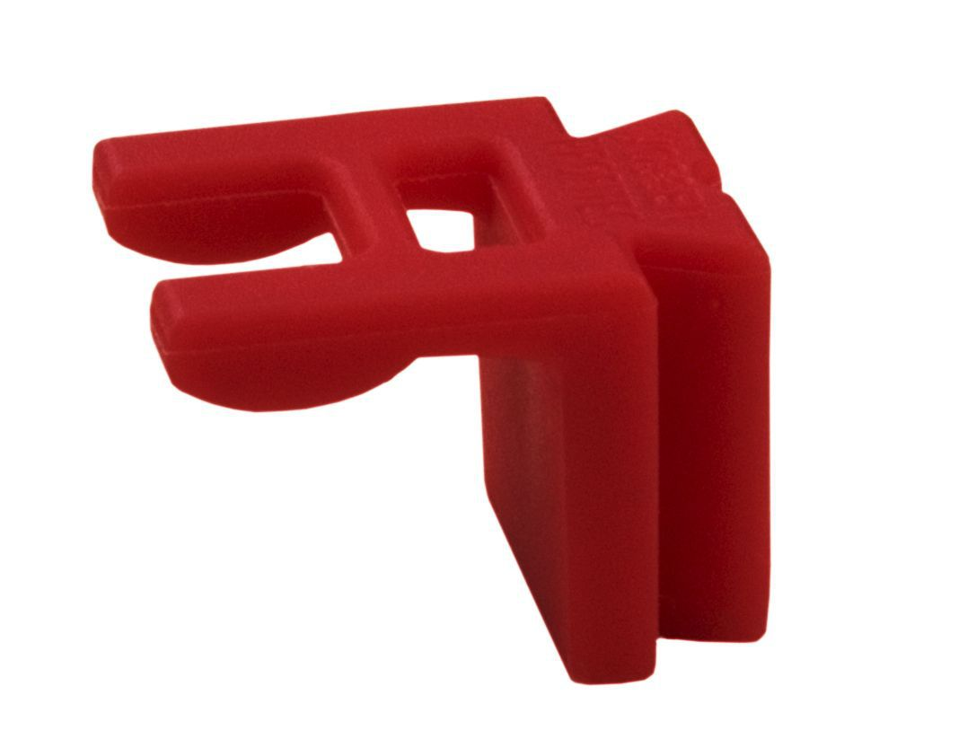 strip clip medium rood