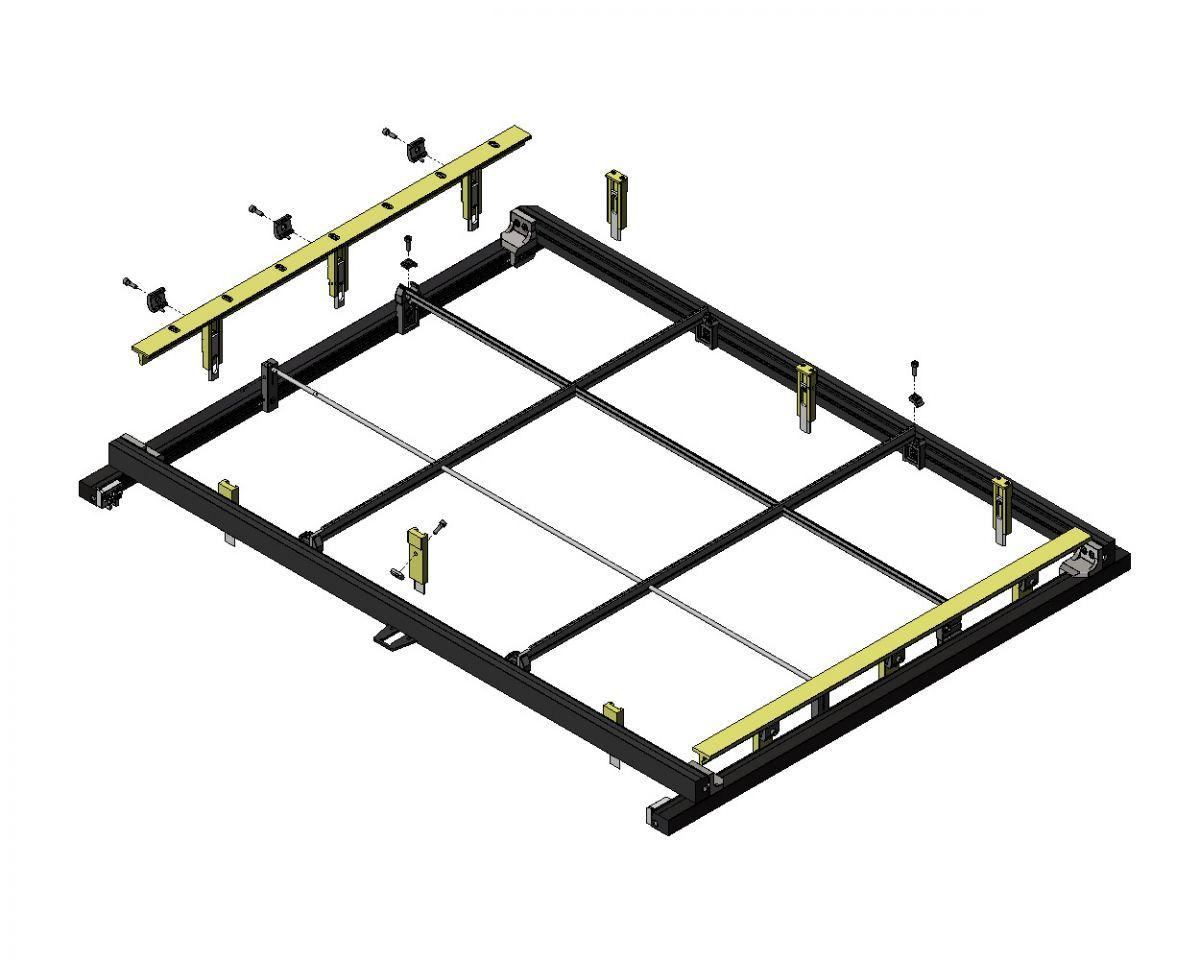 bsi universele separatie kit zelfbouw separatievorm