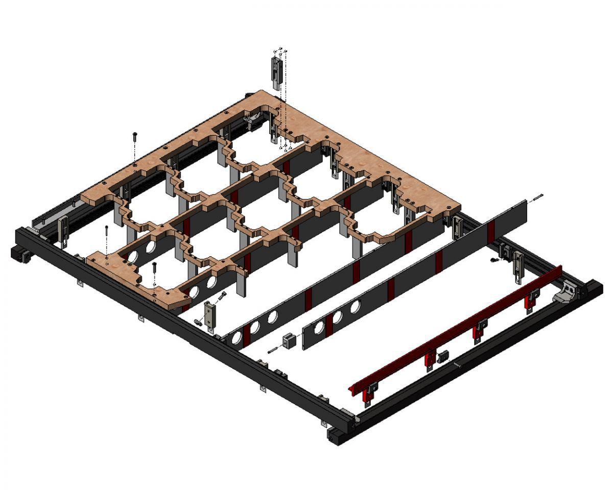 bsi angle lock herbruikbare separatie 80 recyclebare separatievorm