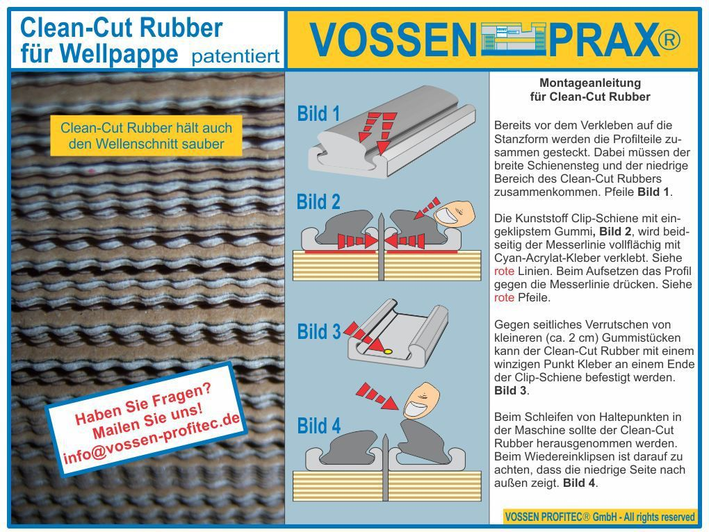 clip rubber systeem