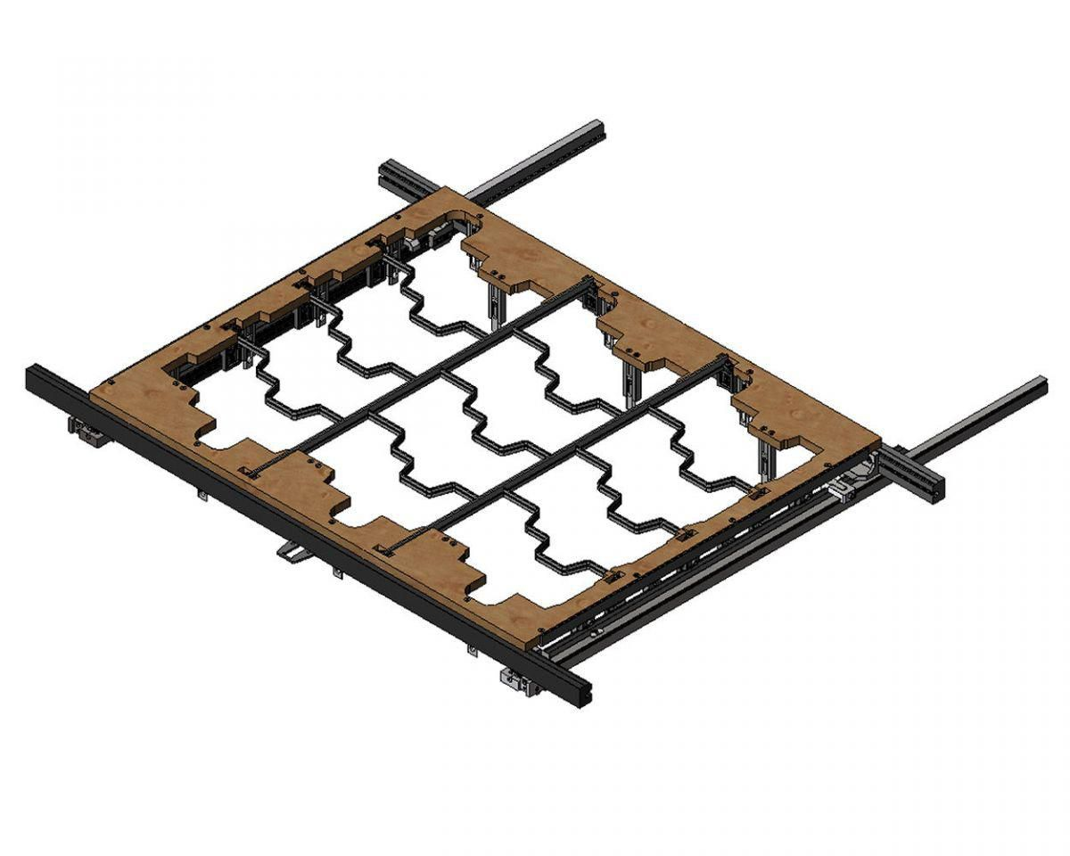 combination tool with 106 per receiver rails