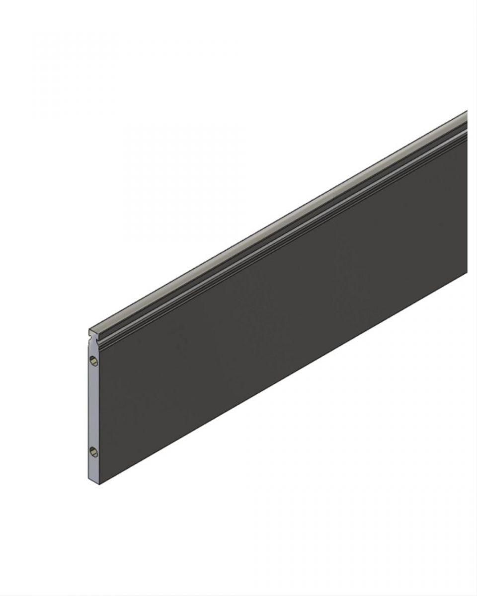 flat top support rail