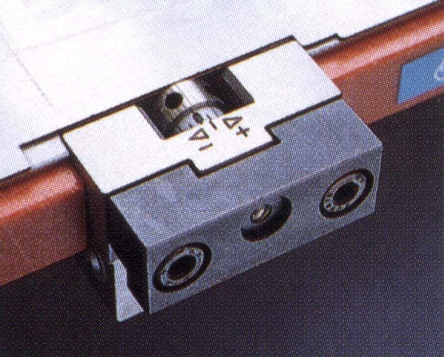 micro justering system fr stansmaskiner