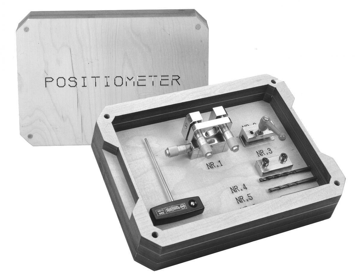 positiemeter met 3 voudige microverstelling