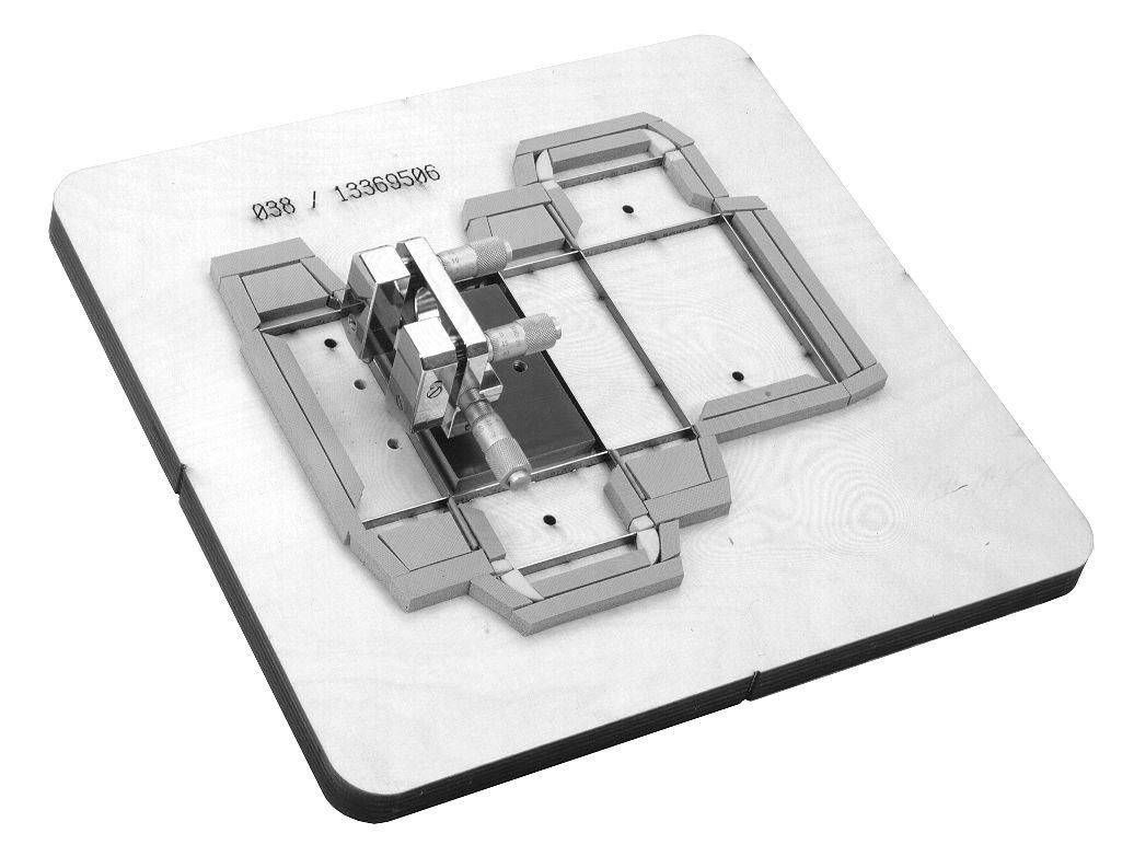 positioner for embossing