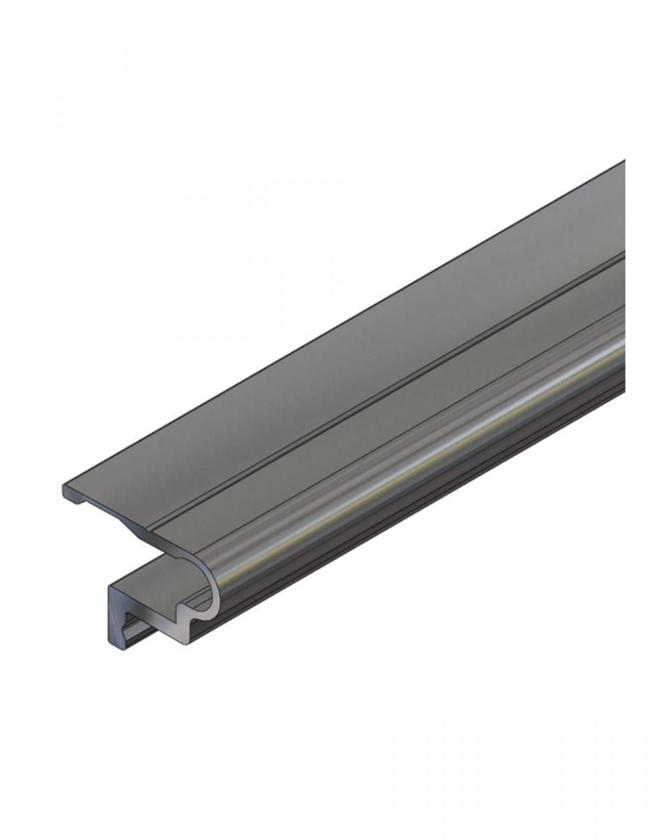 screwless mounting rail